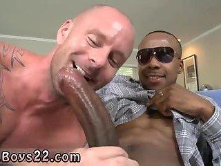 Big jizz-shotgun gay sex