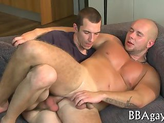 Erotic and wild gay session