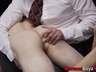 Uniform elder tugs mormon