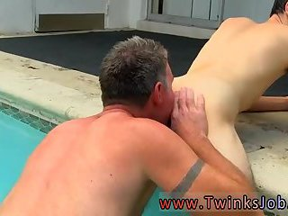 Daddy Brett Fucking Guy In A Pool