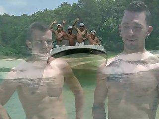 Gay boat orgy, asian ass porn gif