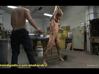 Gay BDSM Stud Dominates his Coworker
