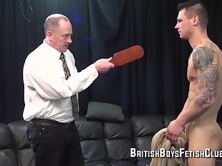 Cal Spanked By Dad