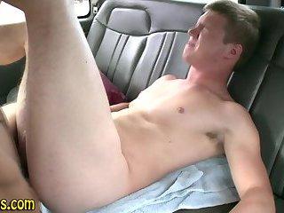Straight stud gets spunked