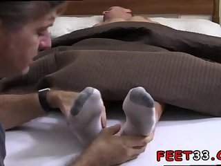 Tommy Gets Worshiped In His Socks