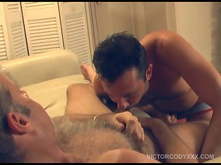 Hairy and Rough Cock Suckers
