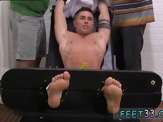 Sebastian Tied Up & Tickled