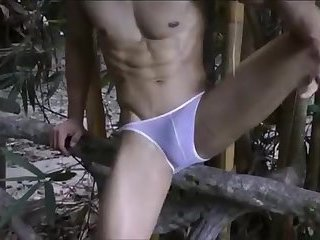 [GVC 391] Sexy Asian Guy Teasing Outdoor