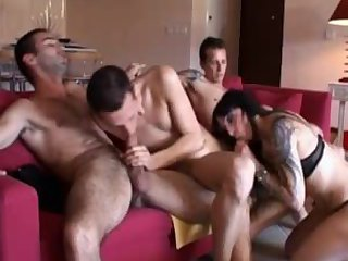 Hot French Foursome