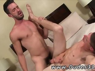 Cute brunette boys enjoy fucking