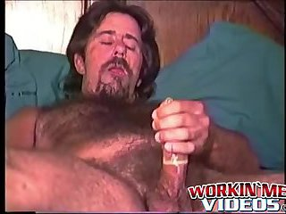 Mature Joe having his first duo with another hot guy Steve
