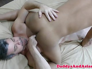 Bear sixtynines asian before bareback