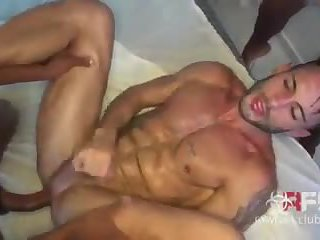 White Hunk Drilled Raw by 2 Black Guys, DP