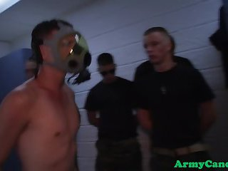 Military amateur sucking