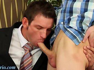 Office bisexual trio