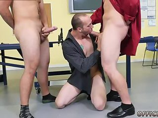 Mature guy sucking bosses cocks