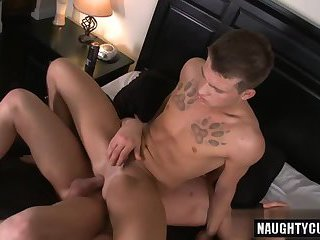 Big cock gay anal with cumshot