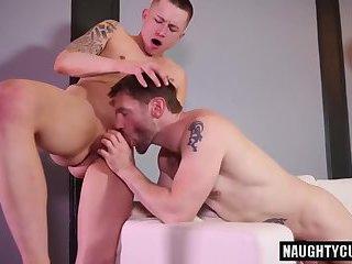 Big dick daddy oral sex with cumshot