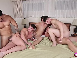 The thieves to join them in a jizz orgy