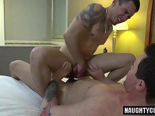 Big cock boy oral sex and cumshot