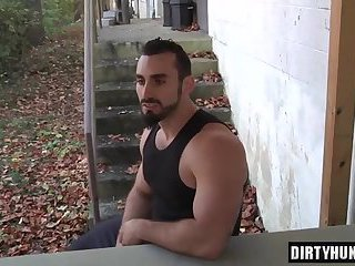 Muscle twinks anal sex and cumshot