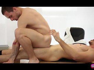 Tayte Hanson rides Jay Roberts bigcocks