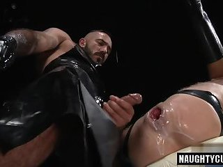 Big cock gay fetish and cumshot