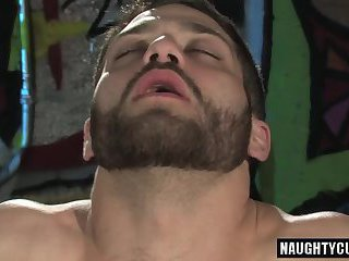 Hairy wolf anal and cumshot