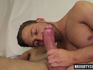 Big dick jock anal sex with cumshot