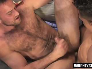 Brunette son oral sex with cumshot