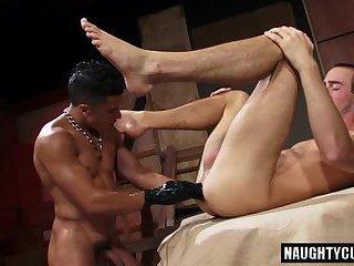 Latin gay fetish with cumshot