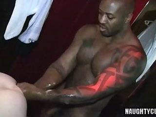 Hot gays double fisting and cumshot