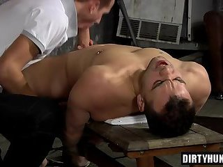 Muscle gays domination and facial