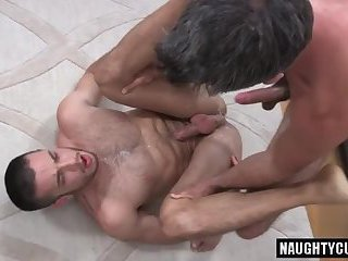 Latin gays anal sex with eating cum