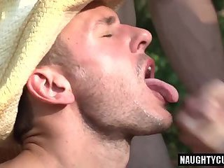 Big dick wolf oral sex with cumshot
