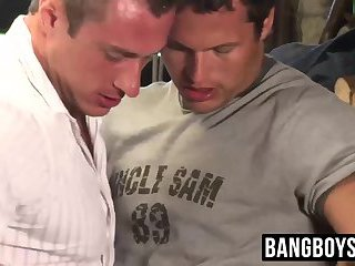 Hunk farm dudes couldnt resist fucking in the barn
