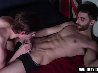 big dick twink foot fetish and cumshot