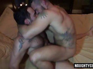 Muscle Jock Rimjob And Cumshot