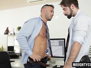 Gay sex in office