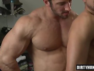 New hairy gay porn something is