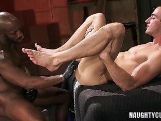 Hot gays fetish and cumshot