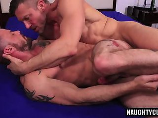 Big dick gay flip flop and cumshot