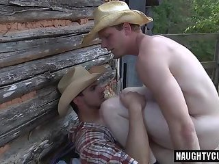 Big dick son anal sex and cumshot