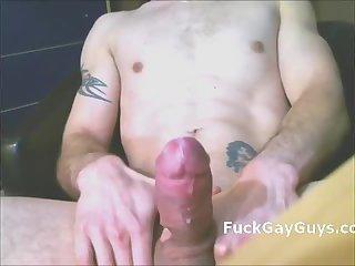 Hands free gay cum 12