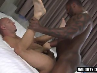 Hot jock anal fisting with cumshot