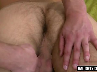 Hot gay blowjob with massage