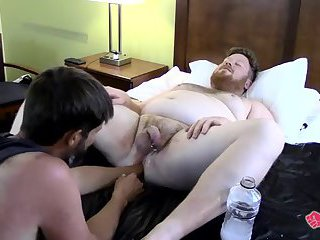 Sky Wine works Brock Watson's hole with his fist