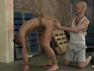 Roped Into Anal Submission! - Reece Bentley And Kieron Knight