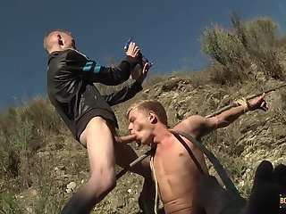 Chris Gets A Chav Cum Load - Chris Jansen & Ashton Bradley