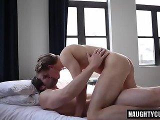 Tattoo gay anal with cumshot